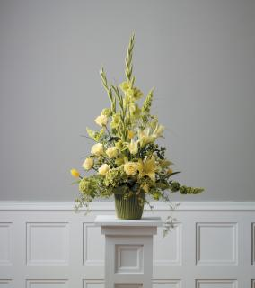 Yellow Friendship Flowers for Funeral Services