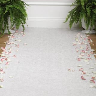 Rose Petal Aisle Decoration