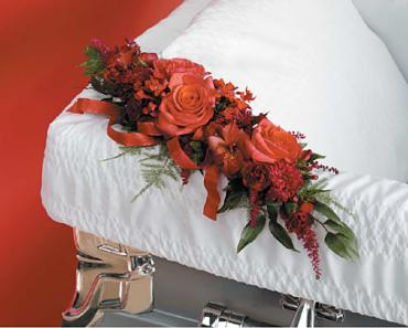 Red Casket Adornment