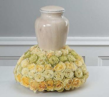 All Roses Urn Arrangement