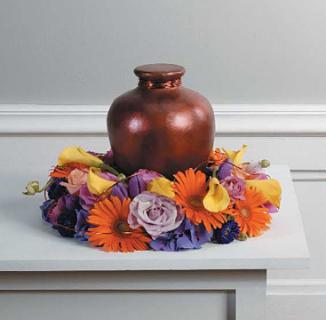 Memorial Table Urn Arrangement