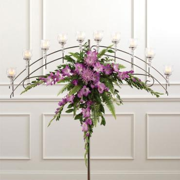 Basic Candelabra Arrangement